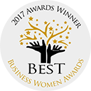 Best Business Women award winner 2017.